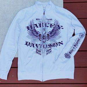 Harley Davidson Zip-Up Sweatshirt Orlando, Florida